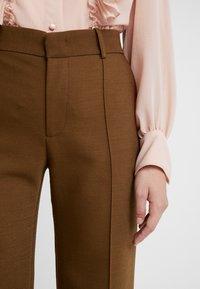 See by Chloé - Spodnie materiałowe - smoked brown - 5