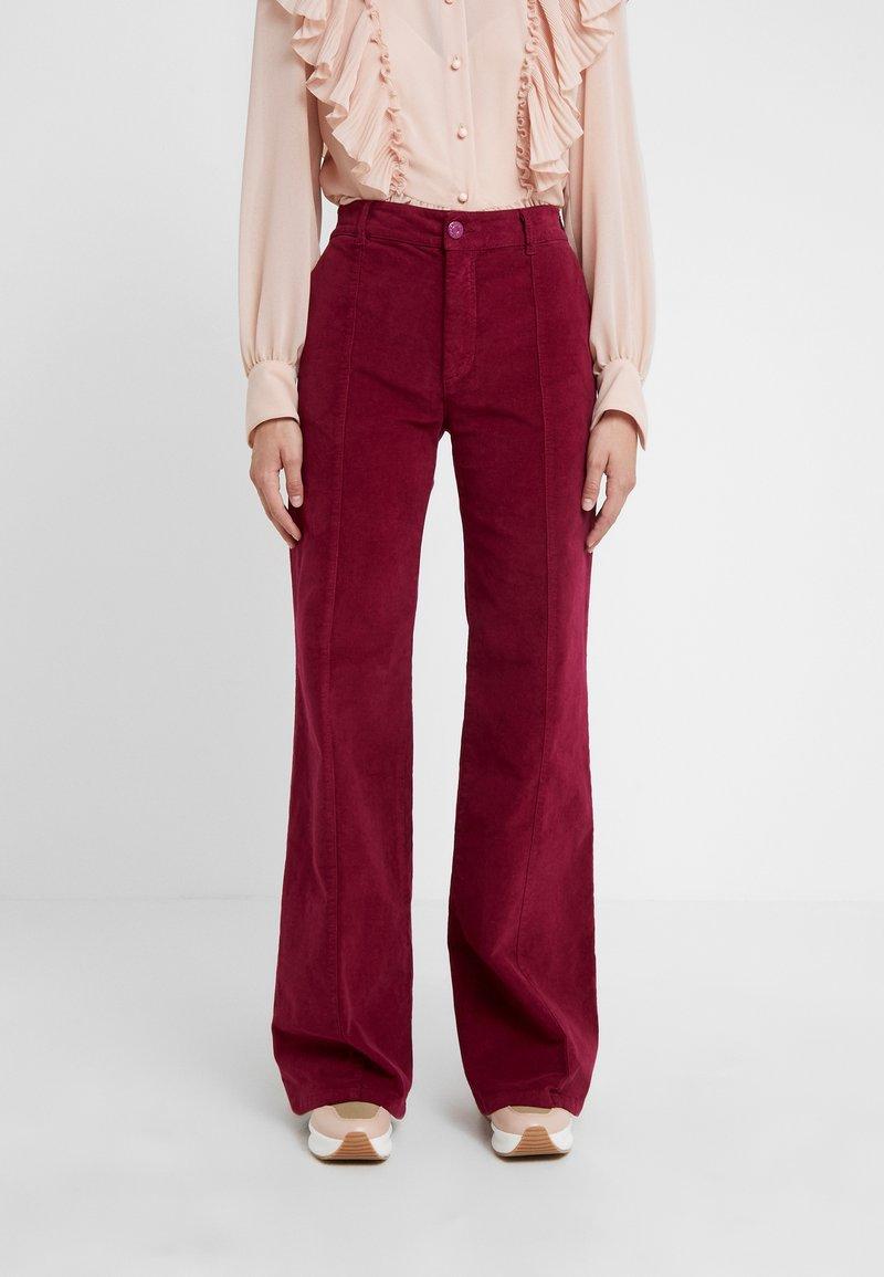 See by Chloé - Spodnie materiałowe - juicy purple