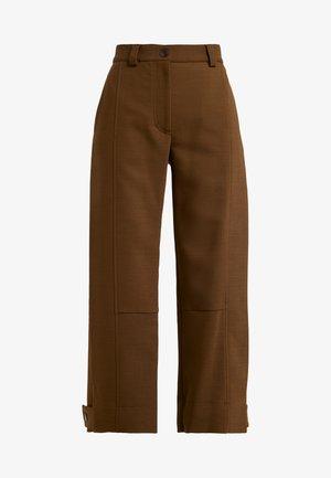 Stoffhose - smoked brown