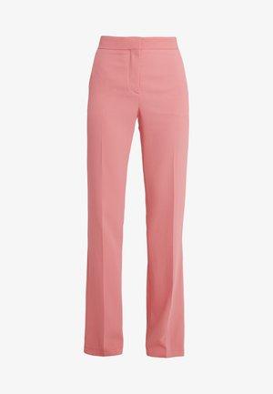 Pantalon classique - poppy peach