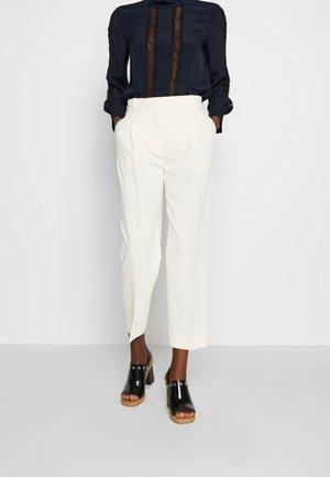 Kalhoty - natural white