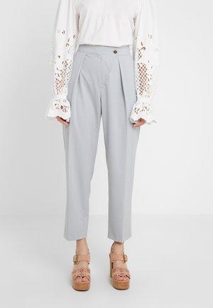 Pantalon classique - cold grey