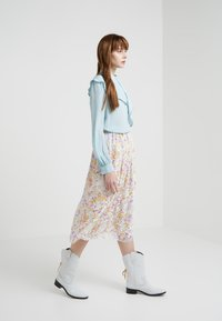 See by Chloé - A-line skirt - multicolor/grey - 1