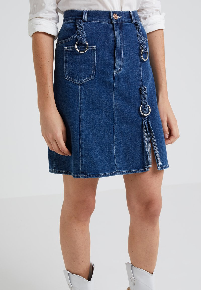 See by Chloé - A-lijn rok - blue denim