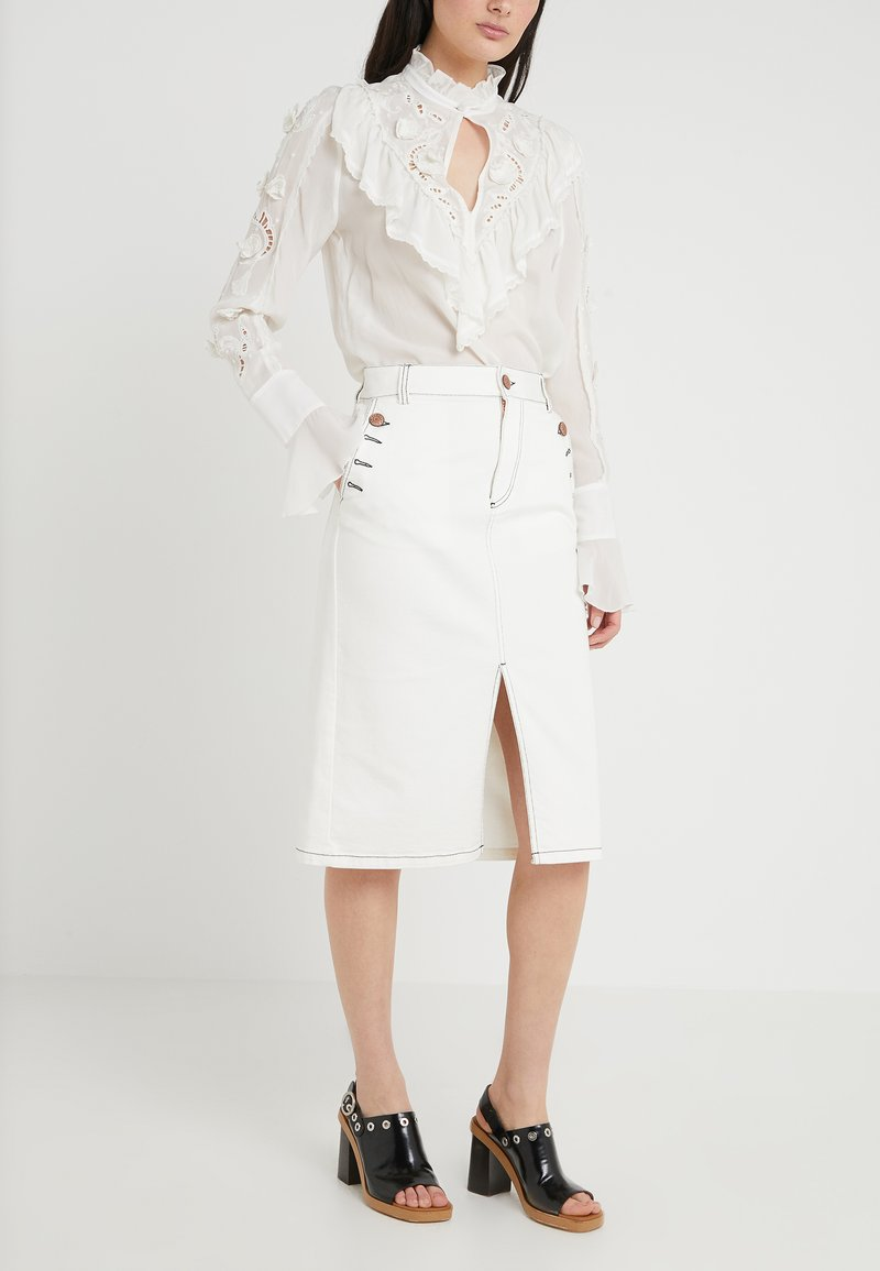 See by Chloé - Pencil skirt - iconic milk