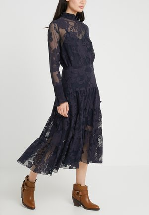 A-line skirt - ink navy