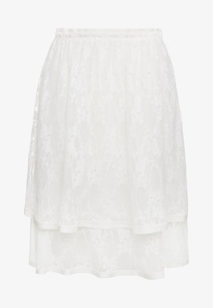 A-line skirt - crystal white