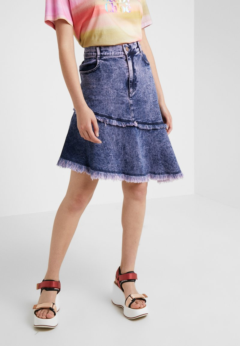 See by Chloé - A-line skirt - blush pink