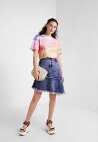 See by Chloé - A-line skirt - blush pink - 1