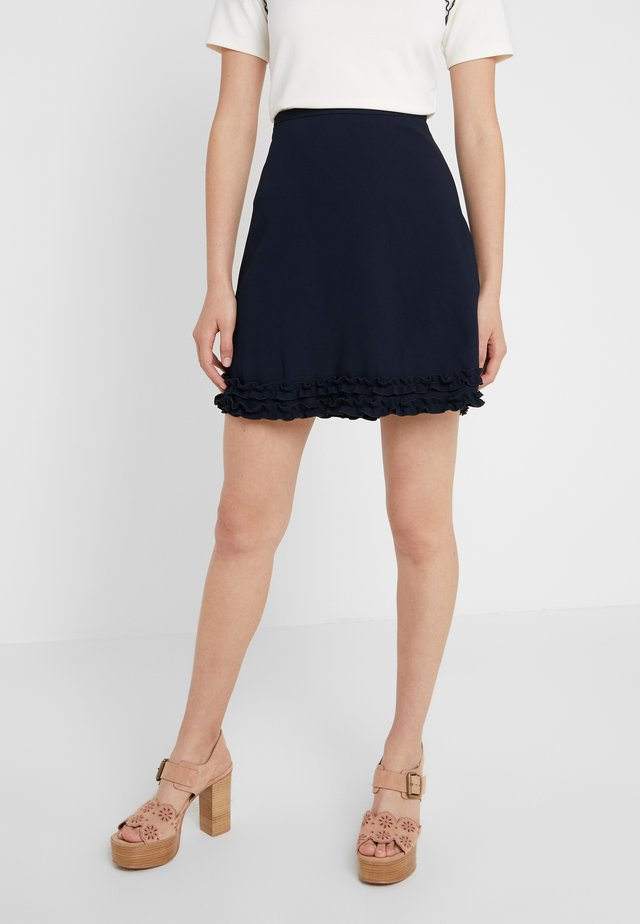 Mini skirt - ink navy