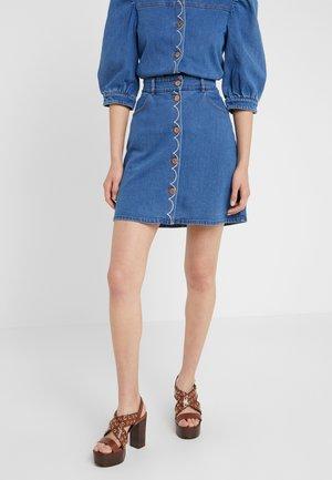 Mini skirt - truly navy