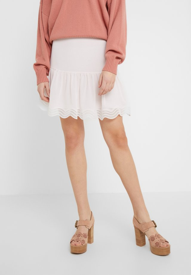 A-line skirt - softy pink