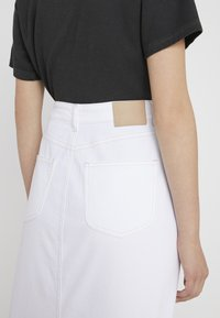 See by Chloé - Pouzdrová sukně - white - 5