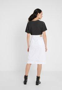 See by Chloé - Pouzdrová sukně - white - 2