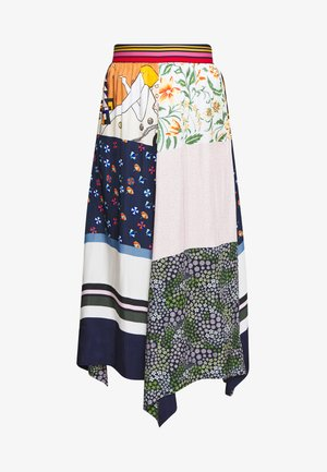 A-line skirt - multicolor