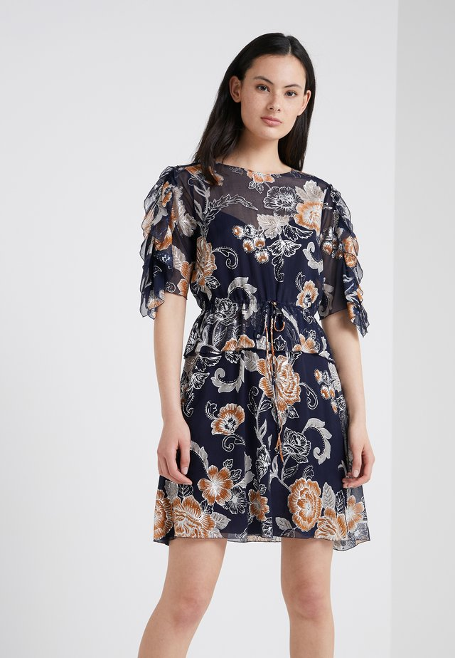 Denní šaty - multicolor/blue