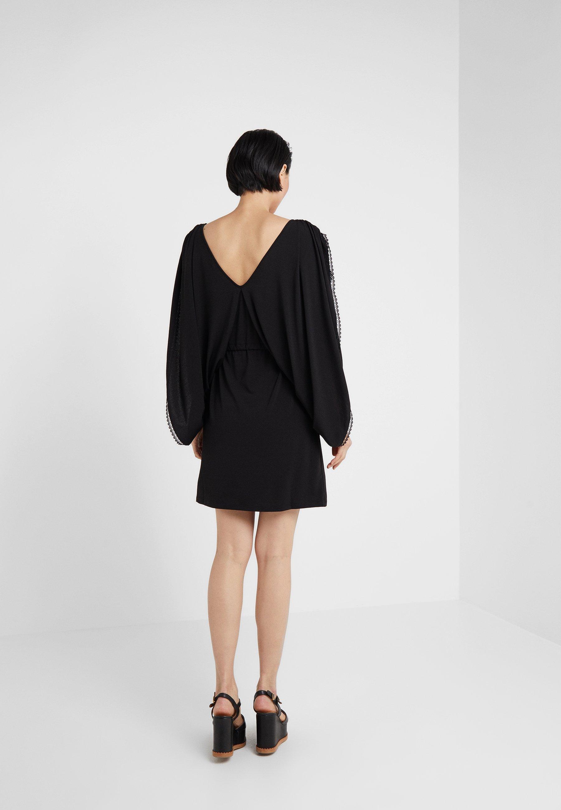 Robe Robe See D'étéBlack See By Chloé By Chloé lFK1JTc