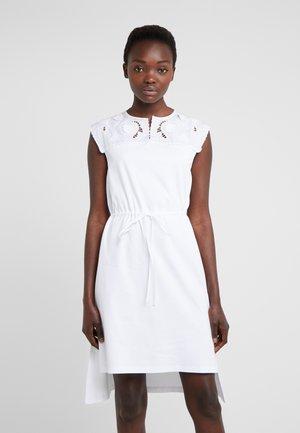 Jerseyklänning - white powder