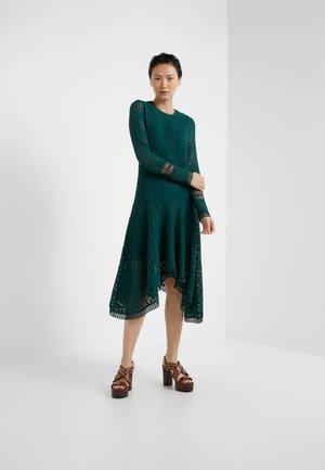 Korte jurk - lightless green