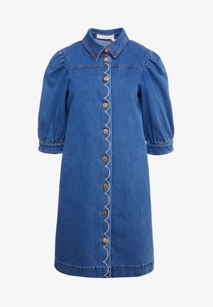 Denim dress - truly navy