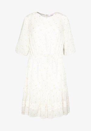 Kjole - multicolor/white