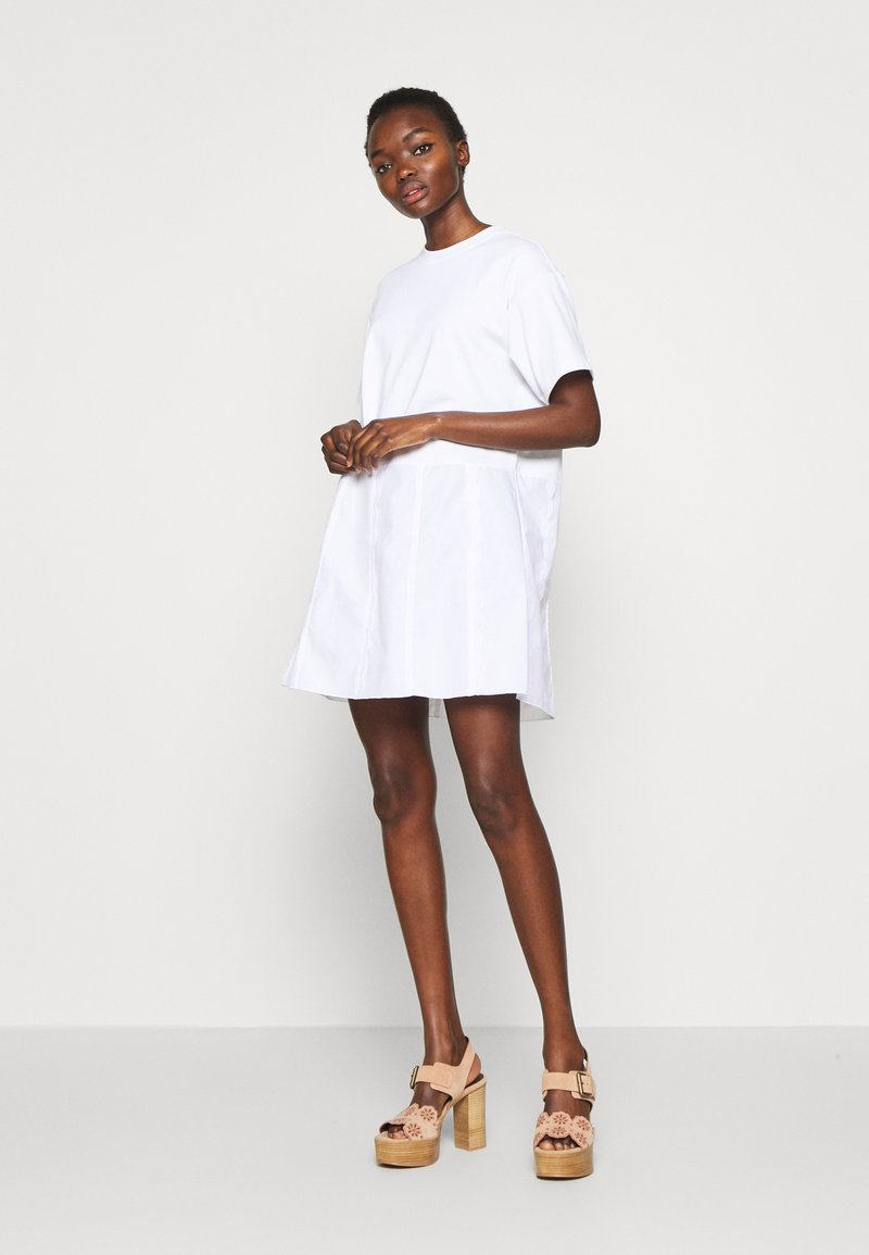 See by Chloé - Day dress - white powder