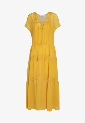 Day dress - bright gold
