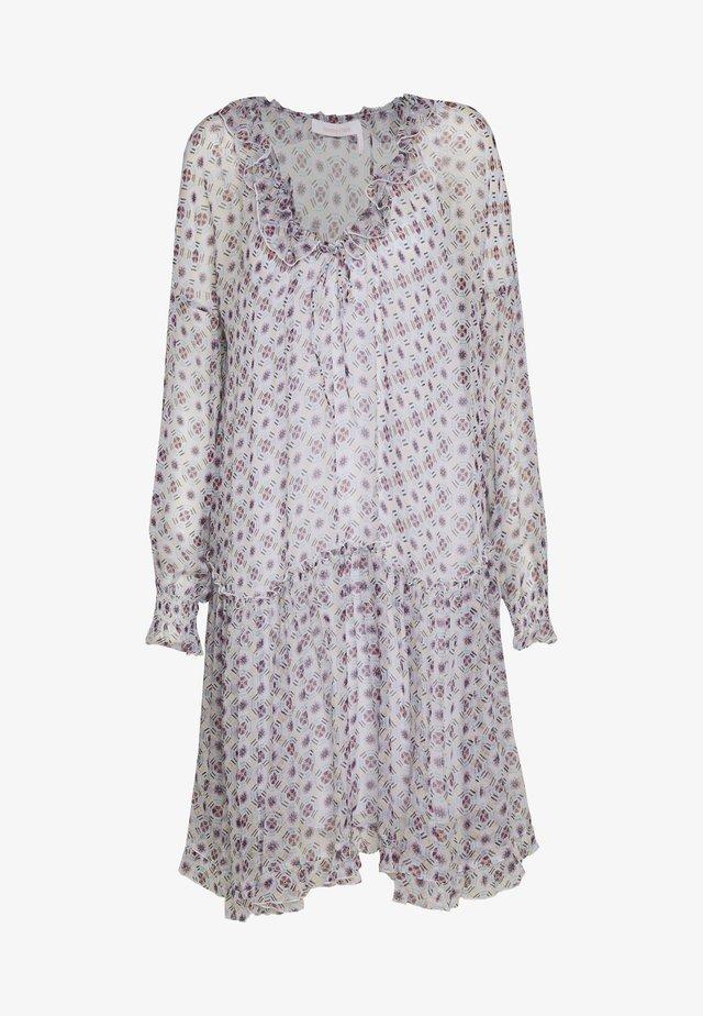 Sukienka letnia - multicolor/white