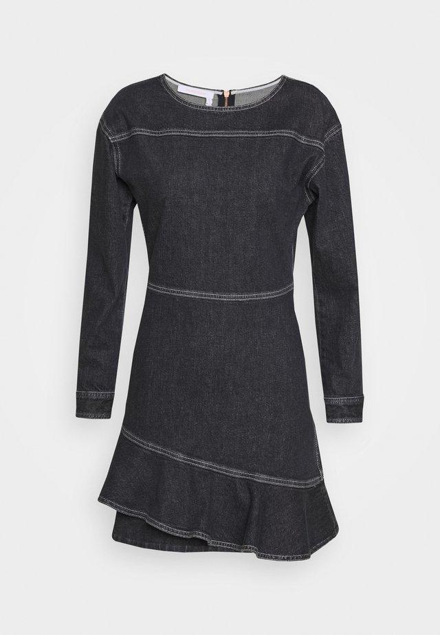Sukienka jeansowa - black