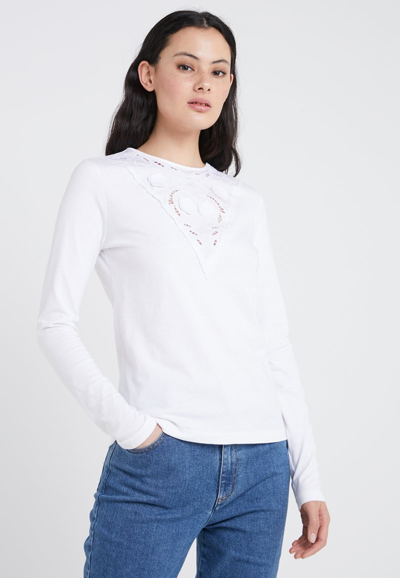 See by Chloé - Longsleeve - white powder