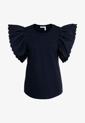 Print T-shirt - ink navy