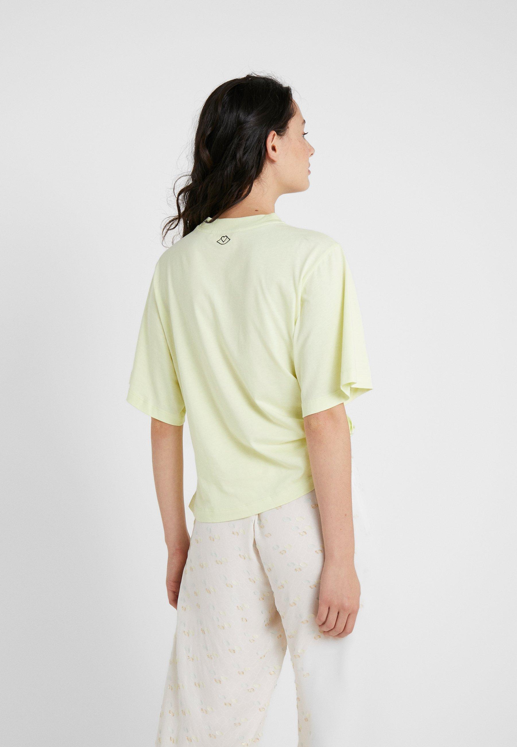 See by Chloé T-shirt z nadrukiem - young green