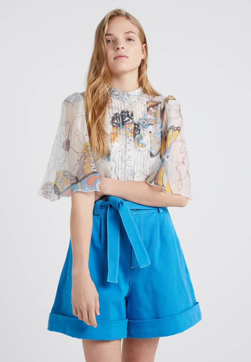 See by Chloé - Blouse - multicolor/white
