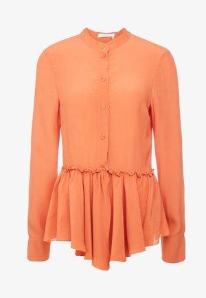 Košile - chestnut orange