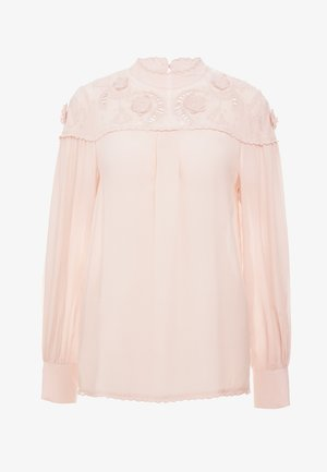 Blouse - smoky pink