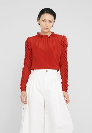 Bluser - earthy red