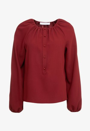 Blouse - boyish red