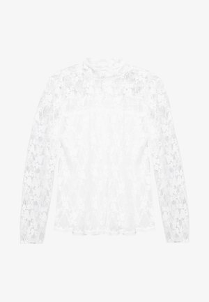 Blouse - crystal white