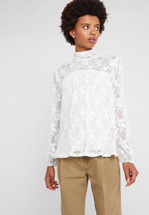 Blouse - crystal white
