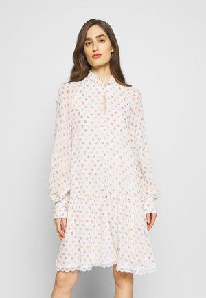 Day dress - multicolor/white