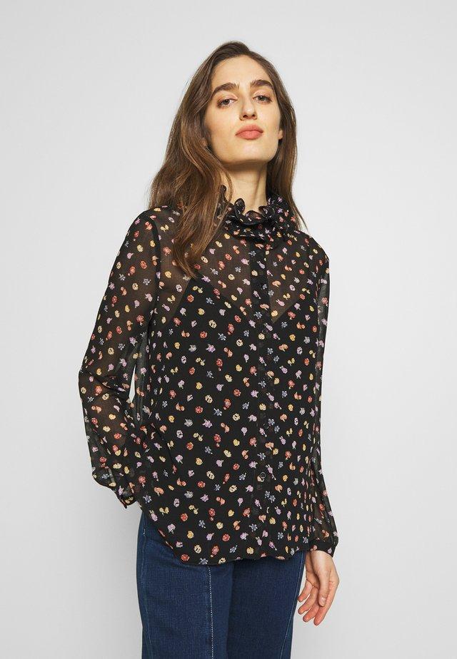 Overhemdblouse - multicolor/black