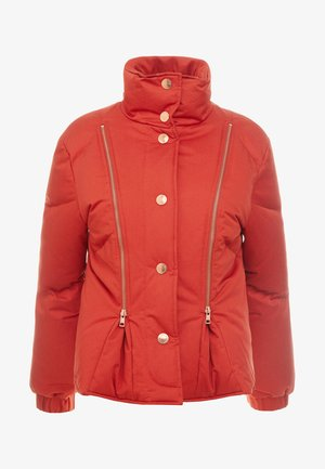 Down jacket - red clay