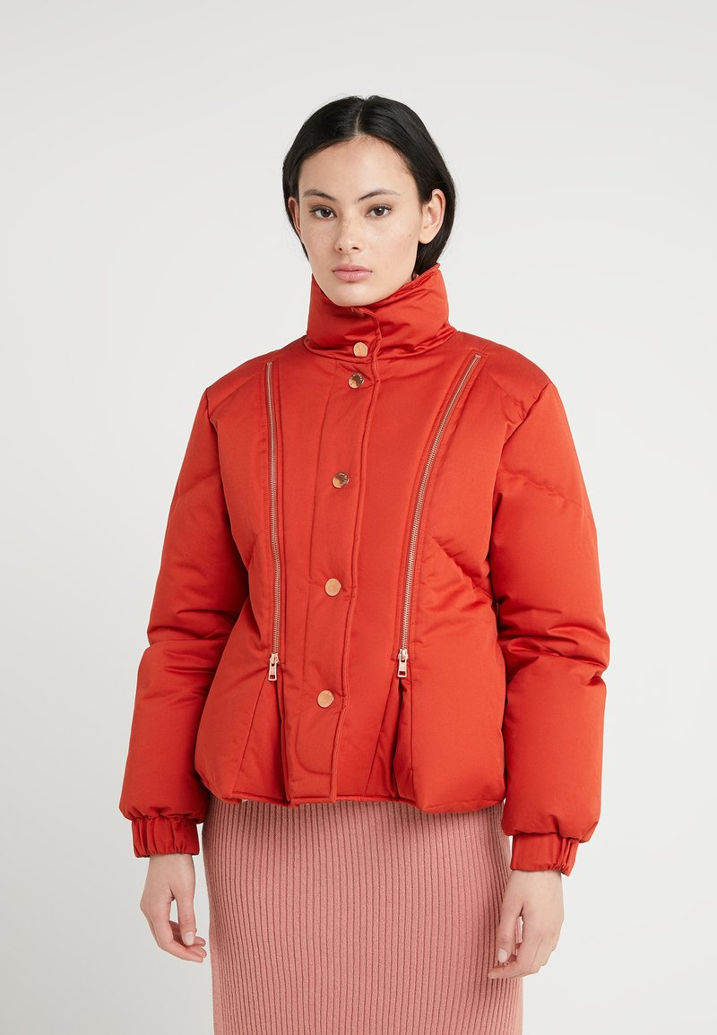 See by Chloé - Down jacket - red clay