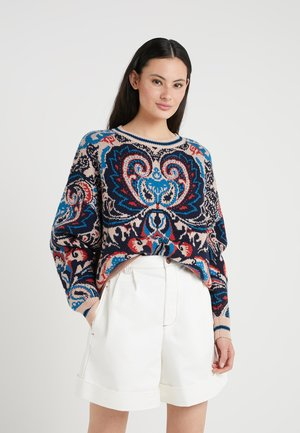 Jumper - multicolor/brown