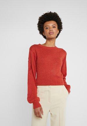 Sweter - rooibos orange