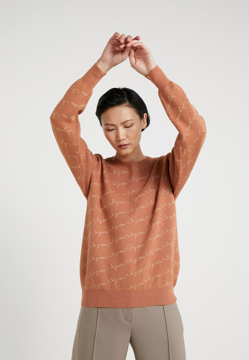 See by Chloé - Sweter - henna brown