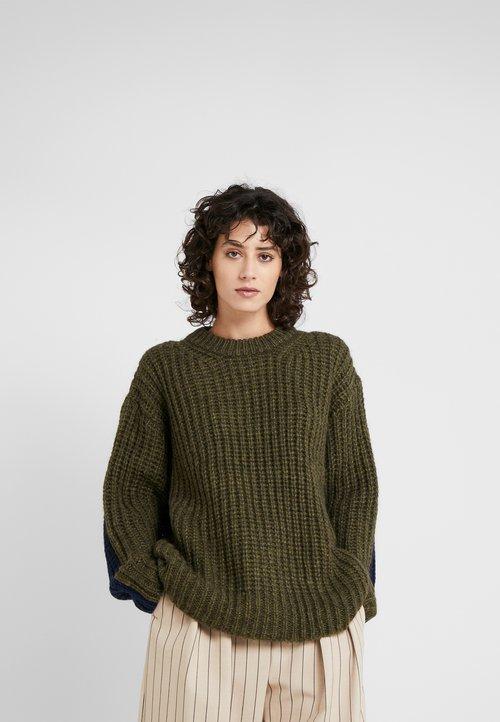 See by Chloé Sweter - black/green Odzież Damska HLOC-YH3 dobry