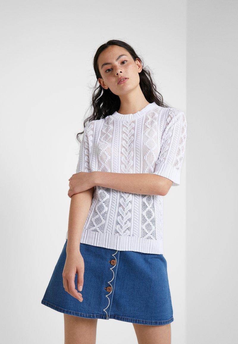 See by Chloé - Print T-shirt - white