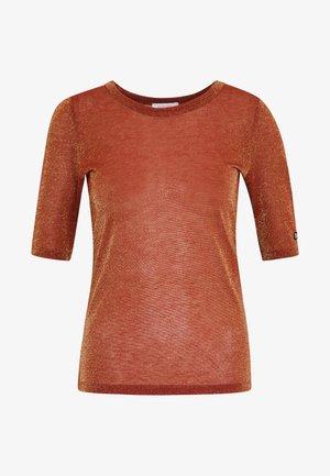 T-shirt imprimé - misty red