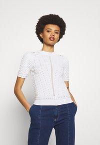See by Chloé - T-shirt imprimé - white - 0